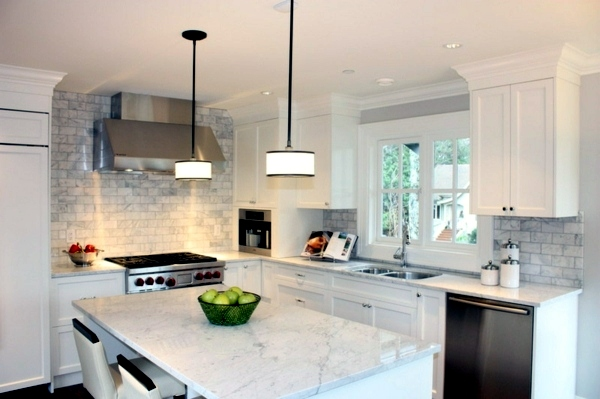 Attractive ... Plan Kitchen Decor In White   Modern White Kitchen