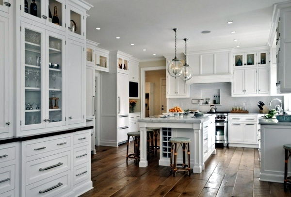 Plan kitchen decor in white – Modern White Kitchen | Interior ... | {Küchenmöbel modern 16}
