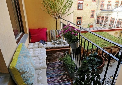 Marvelous ... 19 Original Ideas For A Cozy Balcony Awesome Design