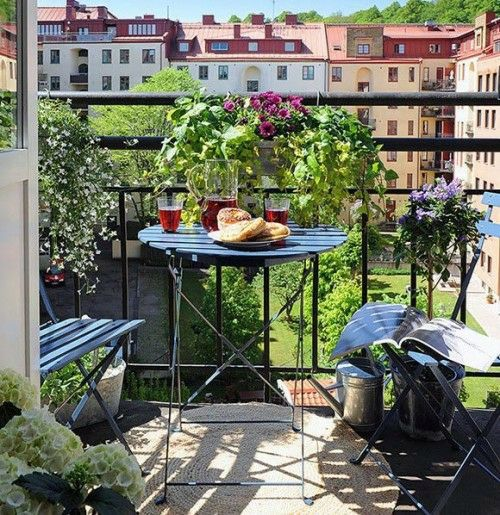 19 original ideas for a cozy balcony interior design for Cozy balcony ideas