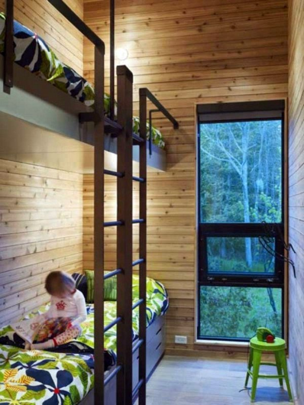 loft bed in the nursery 100 cool bunk beds for children interior design ideas avso org. Black Bedroom Furniture Sets. Home Design Ideas