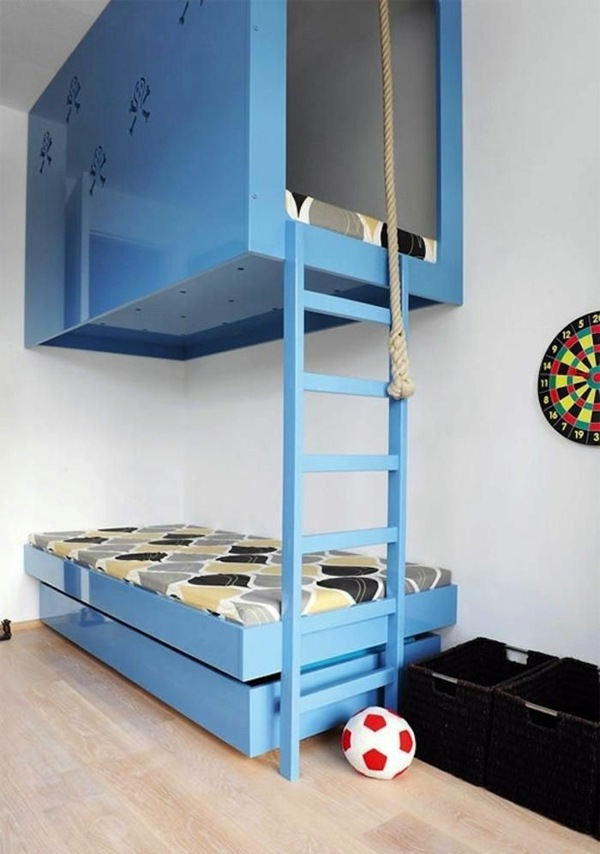 Best of Playful design with a rope Loft bed in the nursery 100 cool bunk beds for children Idea - Cool best bunk beds for toddlers Amazing