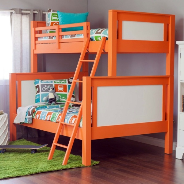 Loft bed in the nursery – 100 cool bunk beds for children ...
