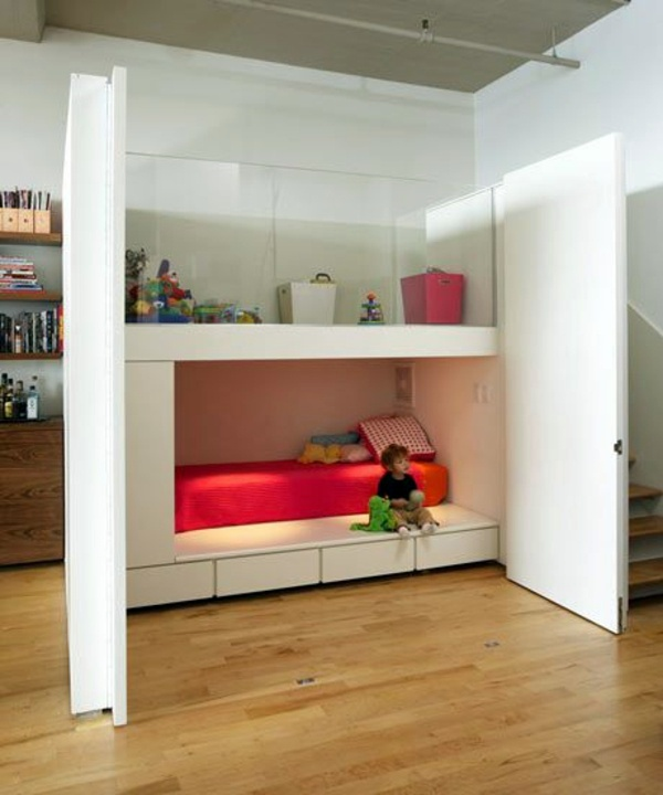 Bunk Bed At Furniture Walls | Free Home Design Ideas Images