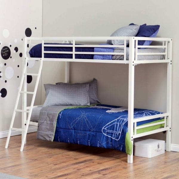 shop bed twin white birch canada toddler loft kids oeuf beds perch modern size