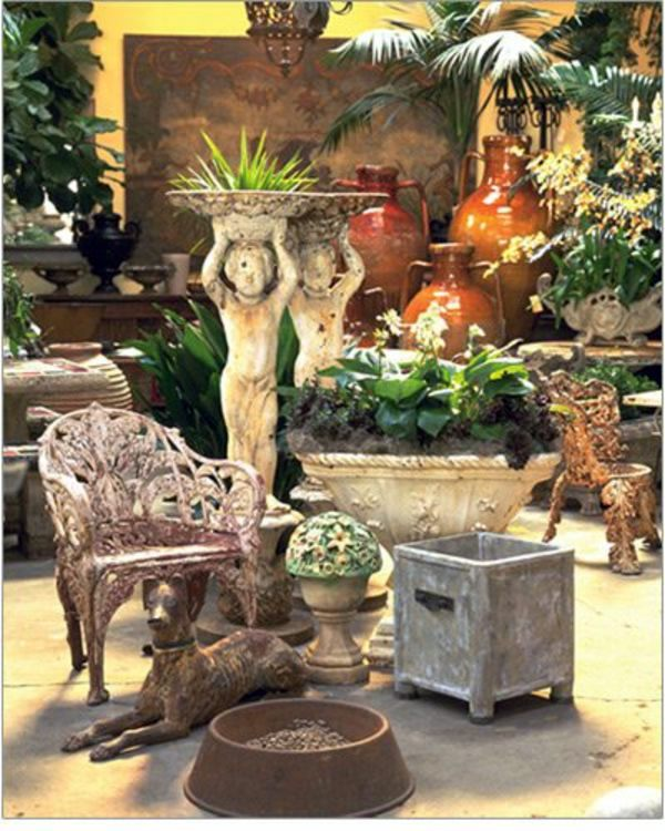 20 Winter Garden Design Ideas