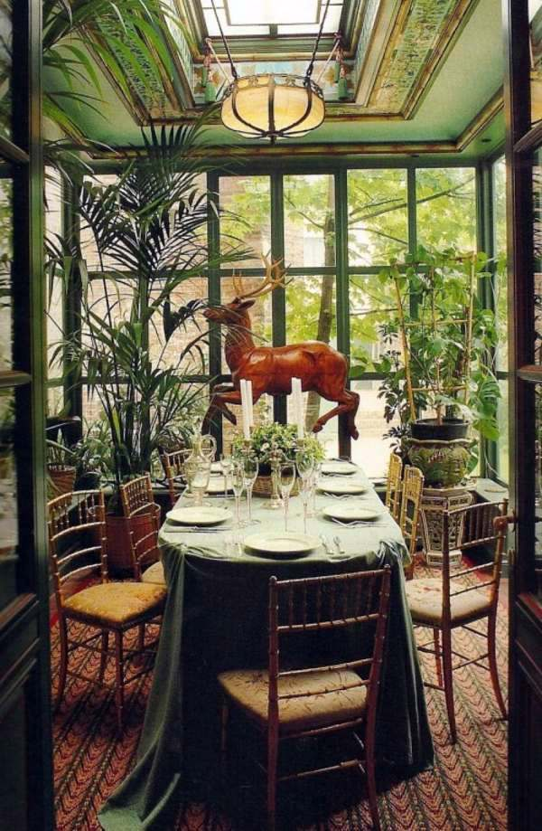 20 winter garden design ideas interior design ideas for Conservatory dining room design ideas