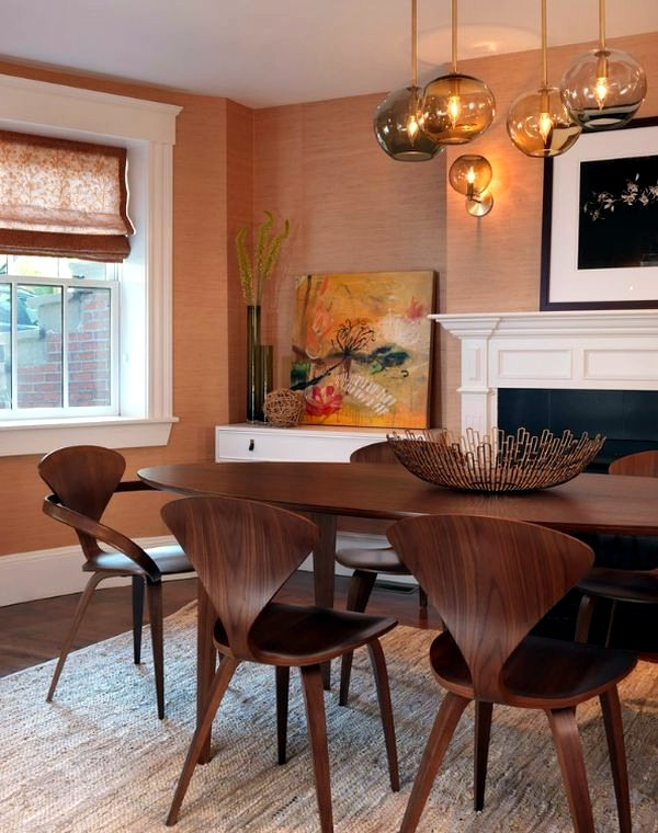 5 beautiful designer chairs from the mid century interior design ideas avso org - Wonderful antique dining room ideas elegant supper time ...