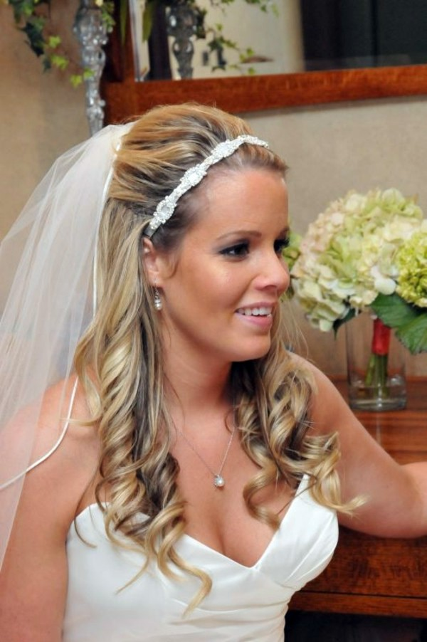 Bridal Hairstyle Half Open Come On In Style Under The