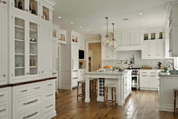 Traditional White Country Kitchen 15 Cool Interior
