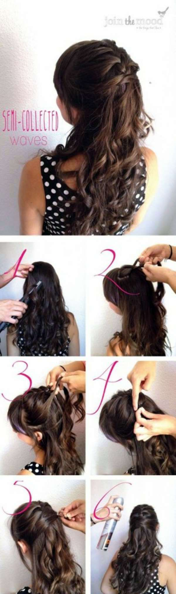 Quick and easy going diy trendy hairstyles interior design ideas waves with braided belt quick and easy going diy trendy hairstyles solutioingenieria Choice Image