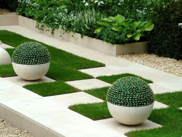 landscape modern garden design - photo #49