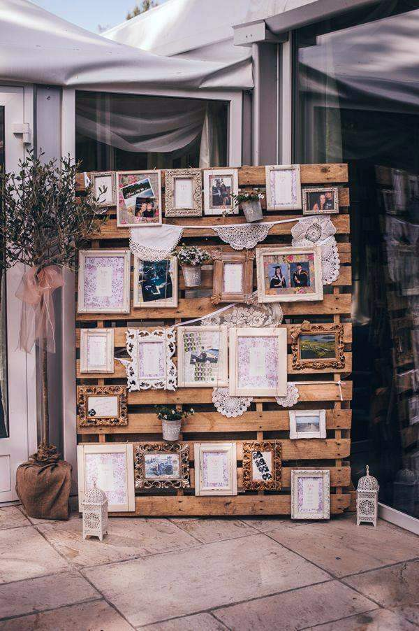 Fabuleux Cool DIY decoration from € palette for your wedding | Interior  AL62