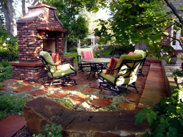 Marvelous ... 20 Stylish Ideas For Outdoor Seating Area   A Comfortable Seating Area  In The Garden