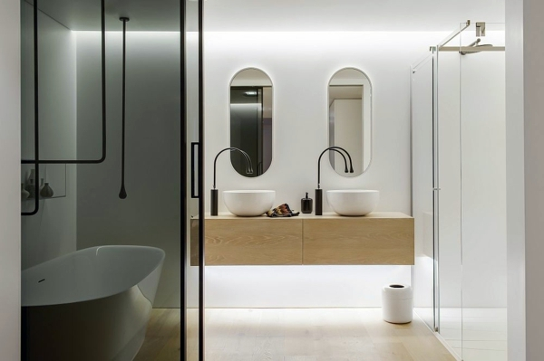 Luxury Bathroom Awesome And Modern Design Of Minosa Interior