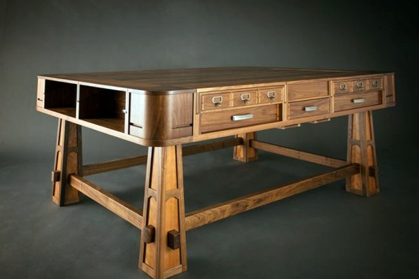 Charmant Art Deco Möbel   Designer Game Table From Geek Chic Combines Customization  And Elegance