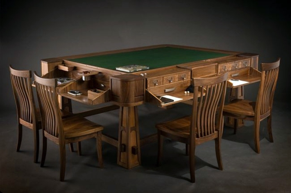 Designer Game Table From Geek Chic Combines Customization And