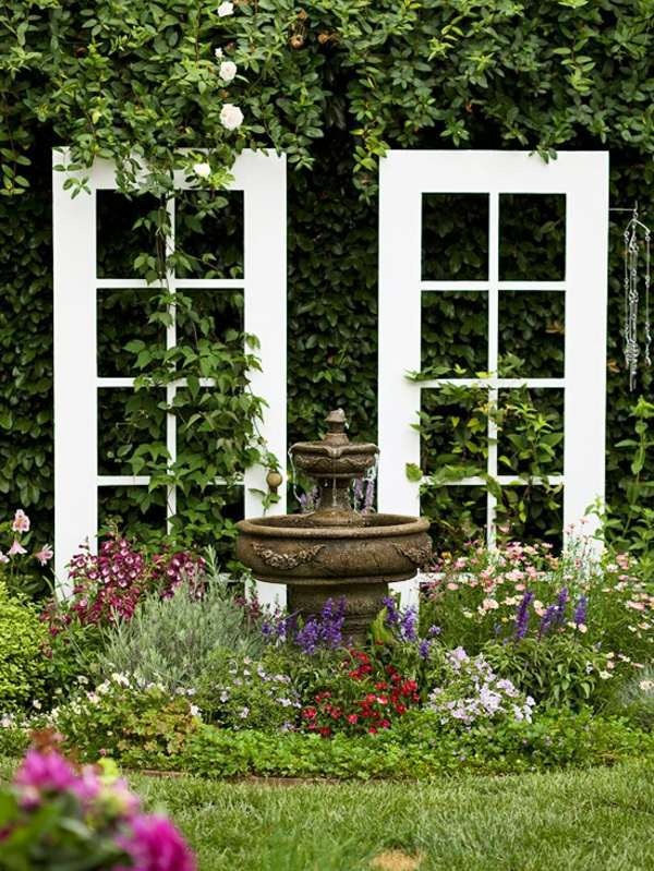 Old doors re use cool decoration and diy furniture for Diy garden gate designs