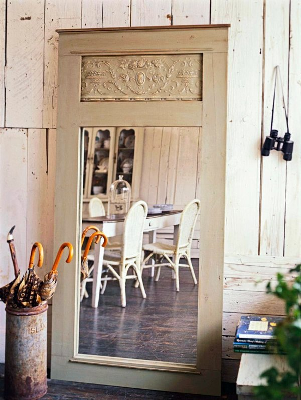Old doors re use cool decoration and diy furniture interior design ideas avso org - Use of mirrors in decorating ...