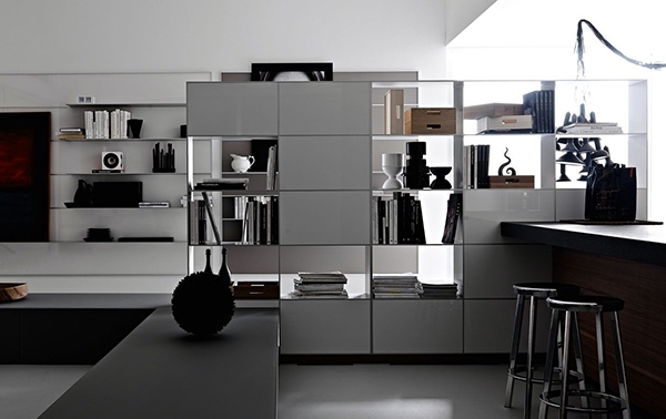 Clean design big impact interior design ideas - Make Your Home Without Partitions Creative Means