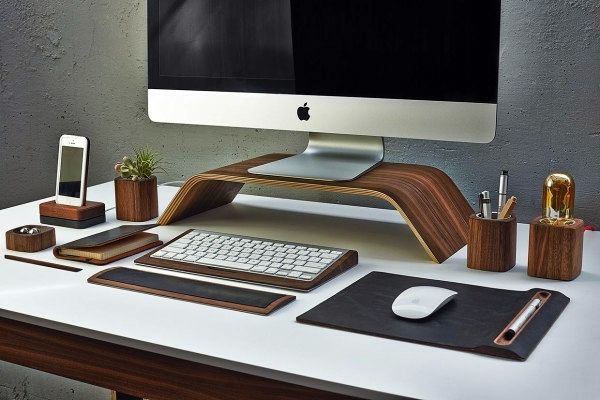 desk accessories from grove made desk interior design. Black Bedroom Furniture Sets. Home Design Ideas