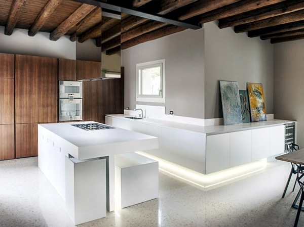 White Kitchen Kitchen Design   Atemberaubernde Work Areas In The Kitchen Part 25