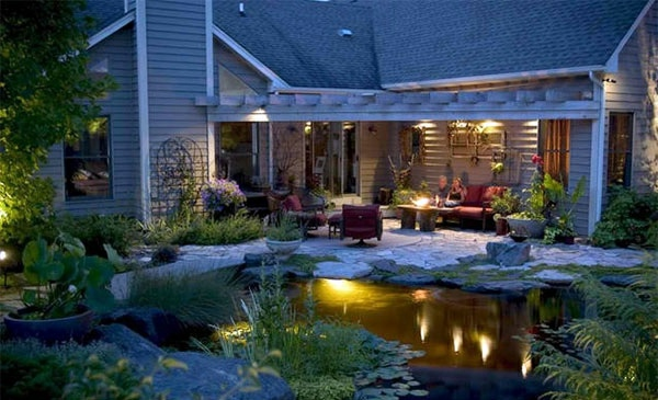 Cove Lighting And Landscape Creating A Garden Pond   Pictures And Ideas For  Creative Landscaping