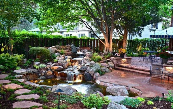 Creating a garden pond pictures and ideas for creative for Small japanese garden pond