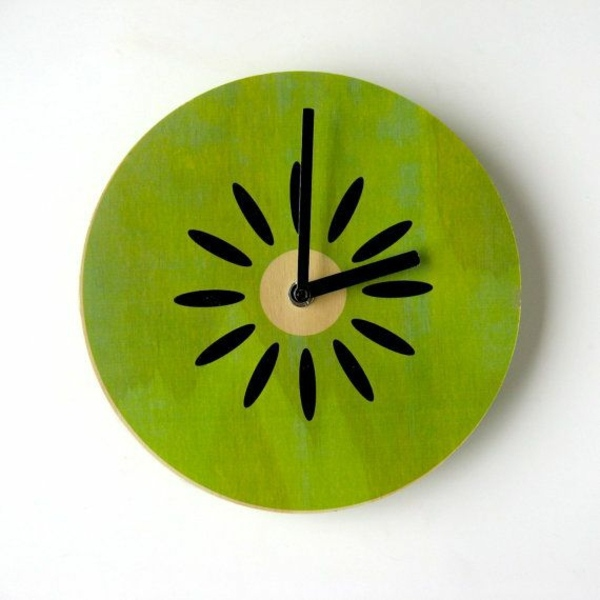 Kitchen clocks designs that stimulate the appetite - Coole wanduhren ...