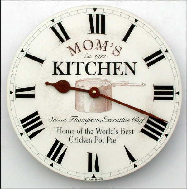 Charming Kitchen Clocks Designs That Stimulate The Appetite