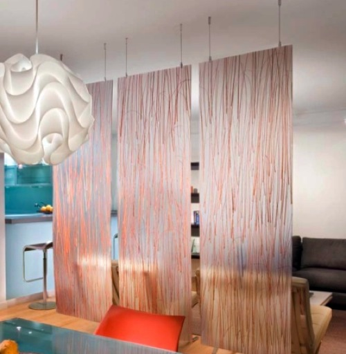 Kitchen Partition Curtains: TOP TO BOTTOM: 10 Beautiful Ideas For Curtains As
