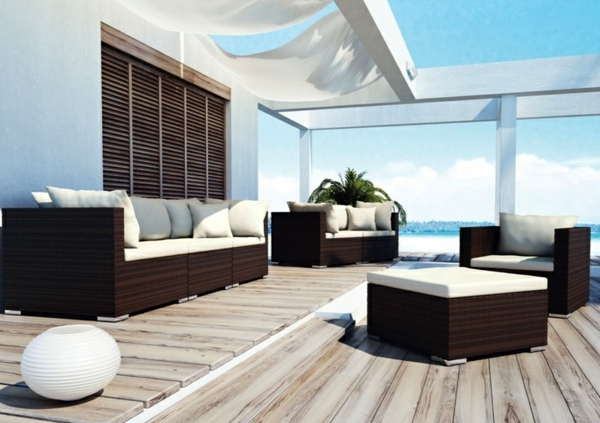 polyrattan and rattan furniture for outdoor the wiser. Black Bedroom Furniture Sets. Home Design Ideas
