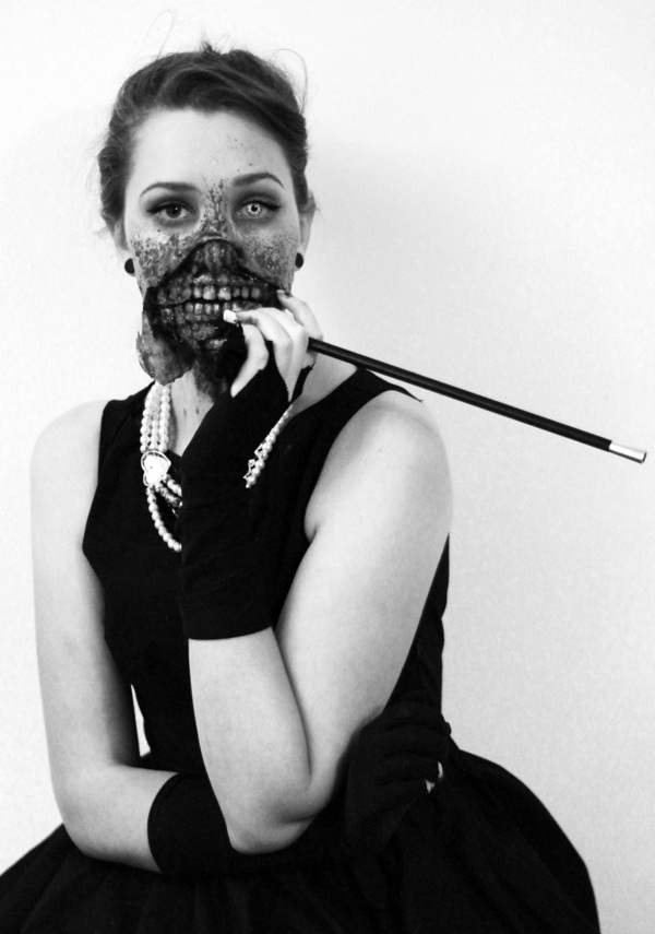 zombie audrey hepburn halloween costume ideas for all ages