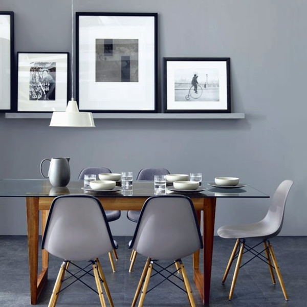 30 interior design ideas for wall paint in shades of gray – trendy ...