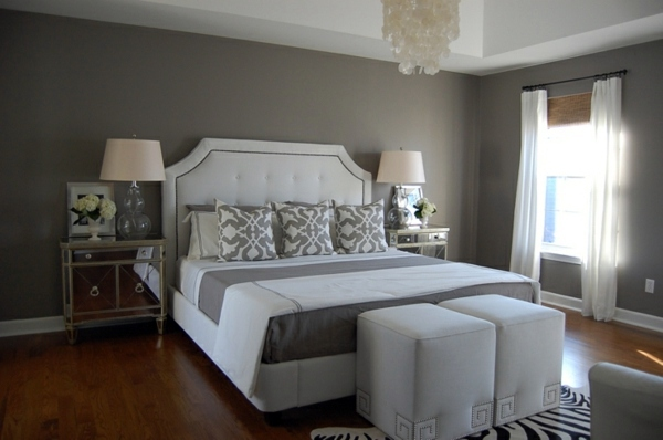 30 Interior Design Ideas For Wall Paint In Shades Of Gray Trendy Color Desi