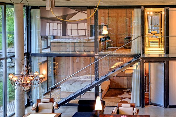 Comfortable Ski Chalet in Manhattan loft style in the heart ...