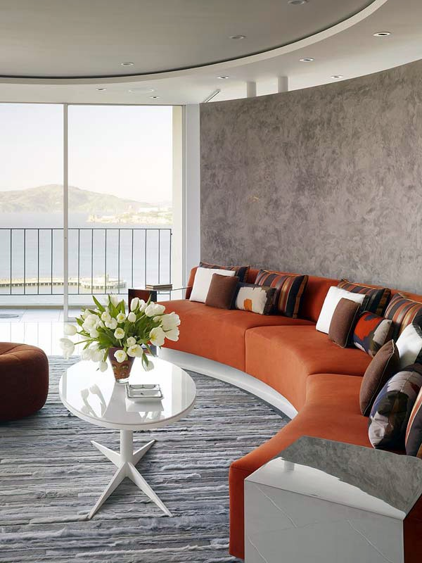 The circular living room design for the modern home & The circular living room design for the modern home | Interior ...