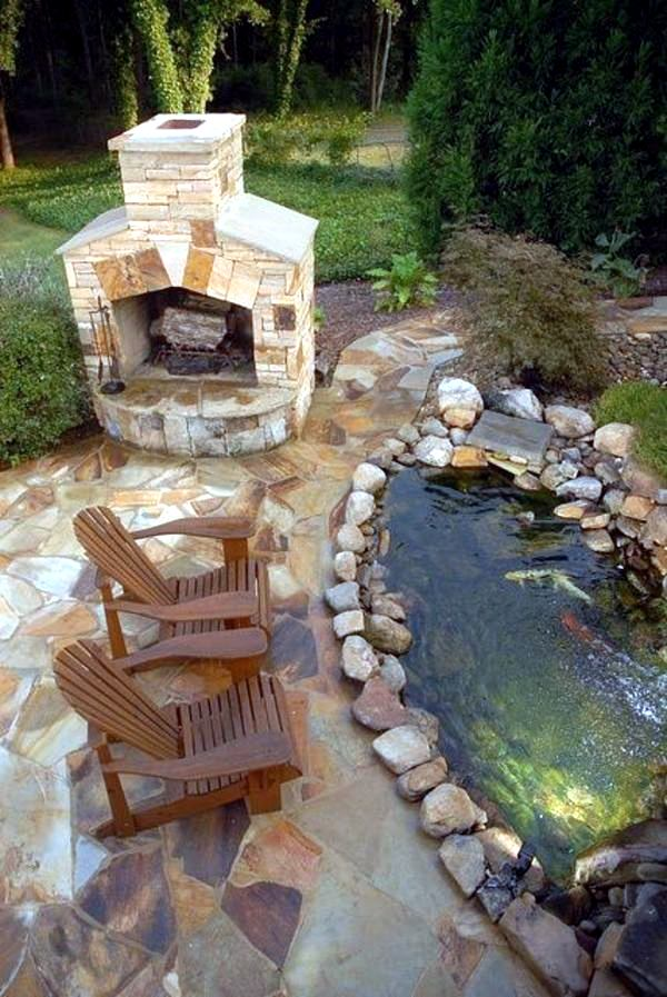 an advice on creating a pond How to build a reflecting pond  here are some tips that i learned the hard way the first time i made a pond: trickle the water slowly out of a hose into the pond.