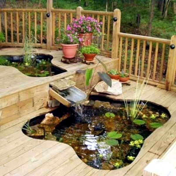 Creating a garden pond and create a green oasis interior design ideas avso org - Corner pond ideas ...