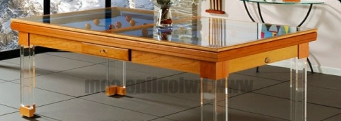 Funny Furnishing Ideas Billiard Table Suitable For Small Spaces - Pool table in small space