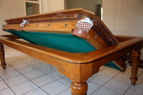 Funny Furnishing Ideas Billiard Table Suitable For Small