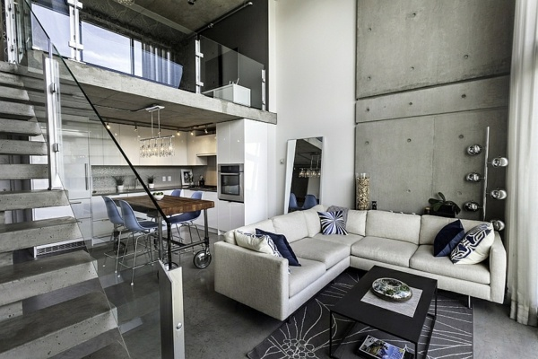 Modern penthouse in vancouver interior design ideas for Modern home decor vancouver