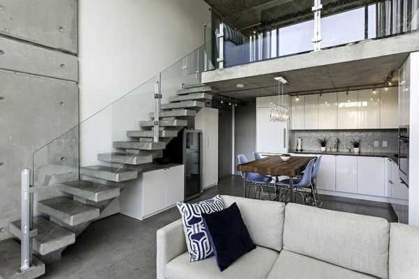 Modern And Robust Design Penthouse In Vancouver The Interior
