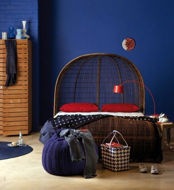 16 Bedroom Decorating Ideas With Exotic African Flavor: 30 Rattanbetten In The Bedroom – Why Not?