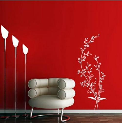 Wall Decoration with Wall Decal 70 beautiful ideas and designs