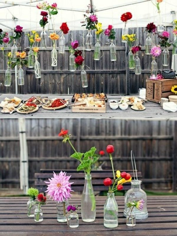 garden ideas for your summer party decoration interior design ideas