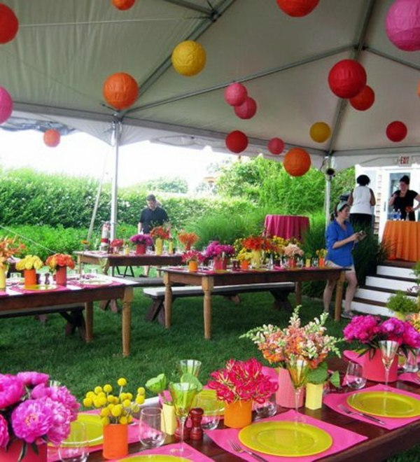 garden party decoration ideas garden party decorations i garden party buffet ideas hanging balls of colored