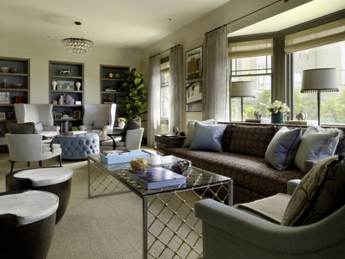 Cozy living room set up: How to Profit from large living space ...