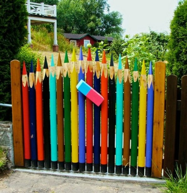 Garden Fence And Borders Ideas Useful Beautiful Designer Suggestions
