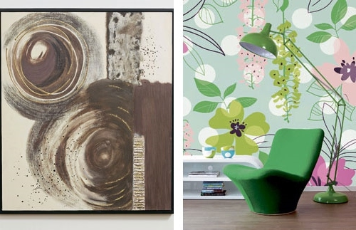 Old Patterns With New Technologies The New Wallpaper Trends 2014